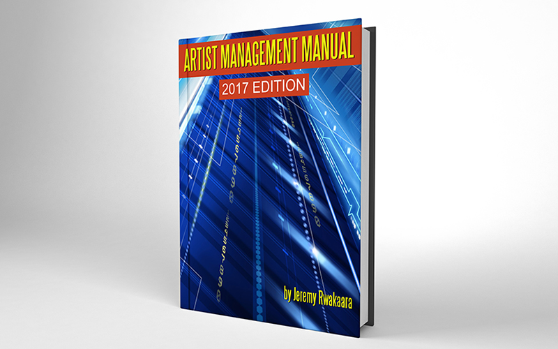 Artist Management Manual eBook Cover