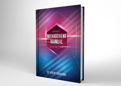 2018 Artist Management Manual eBook Cover