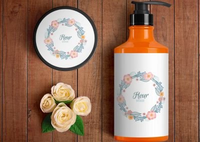 Fleur Visage Packaging and Logo