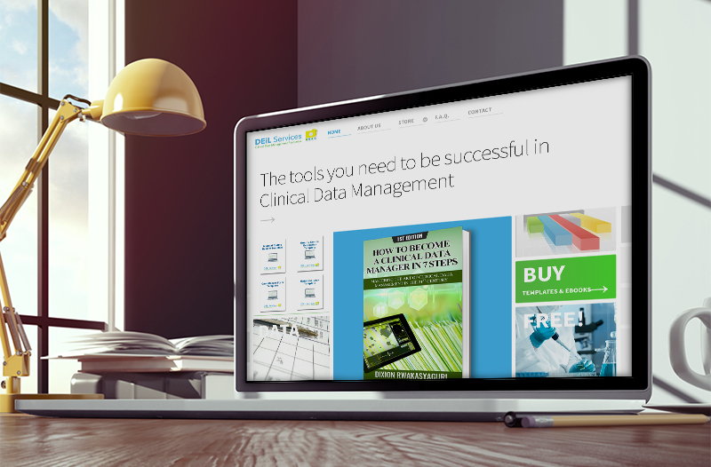 Sell your books and templates online. eCommerce for digital products web site development.