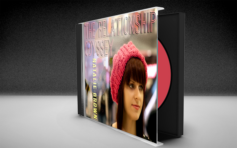 Natalie Brown The Relationship Odyssey CD Art