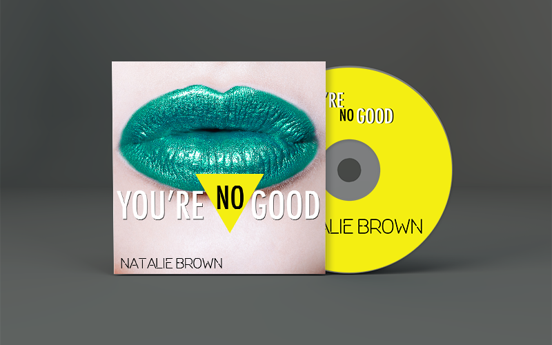 Natalie Brown You're No Good CD Art