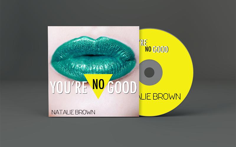 Natalie Brown You're No Good CD Art